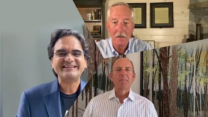 Милинд Пант Даг ДеВос и Стив Ван Андел приглашают вас на виртуальное празднование в вашу честь