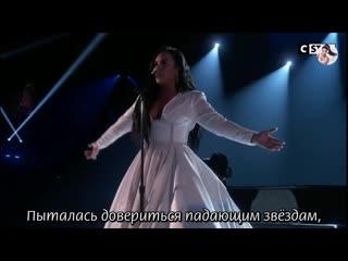 RUS/SUB Demi Lovato - Anyone