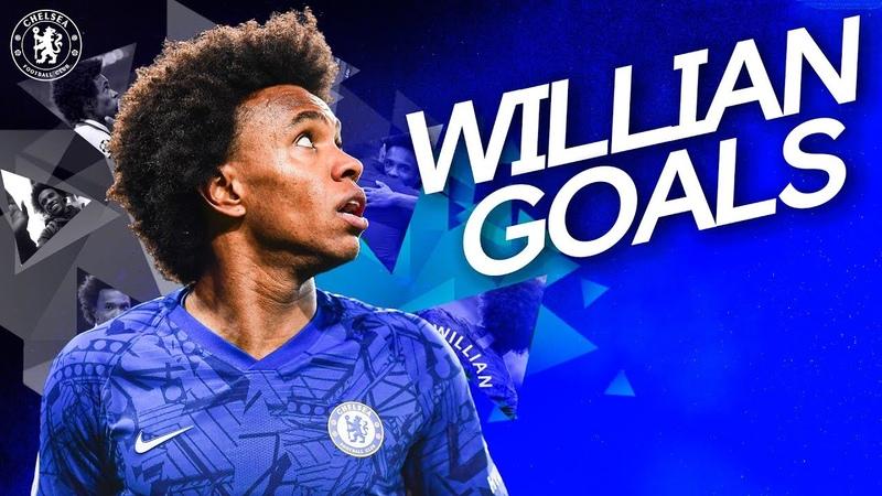 Every Willian Goal For Chelsea! | Ultimate Skills, Tricks Free-Kicks from the Brazilian