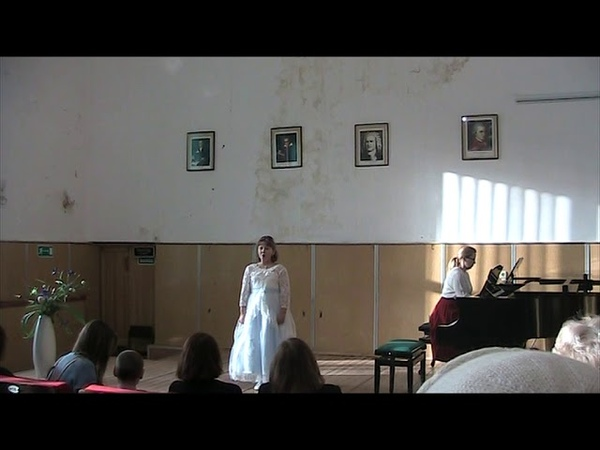 Кубинская детская песня Мама, П. Чайковский, сл. А. Плещеева Осень. Поёт Злата Кириллова