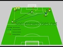 Passing and score a goal drill Part3 Soccer Exercises 33