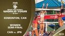 Women's Semi Final CAN vs JPN 3* Edmonton CAN 2019 FIVB Beach Volleyball World Tour