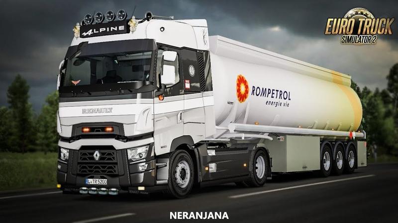 ETS 2 Mod | Renault T Light Improvements v.1.4 [ETS2 v1.36]