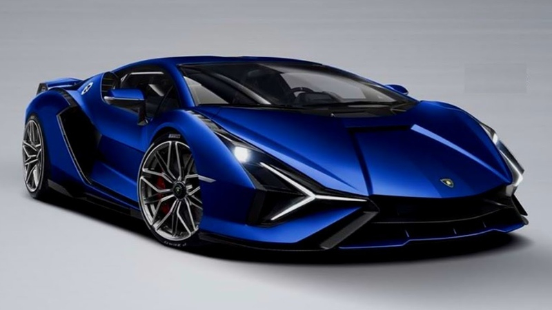 LAMBORGHINI SIAN First Hybrid First Look Interior and Exterior Colours Options
