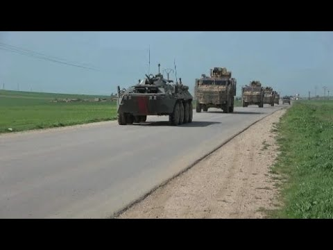 Another Russian Turkish joint patrol March 26th 2020 Northeast Syria