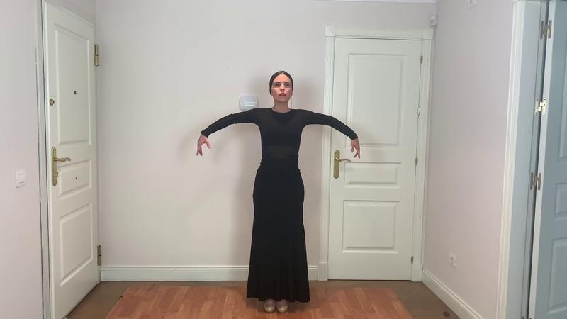Variación Danza Española sin palillos
