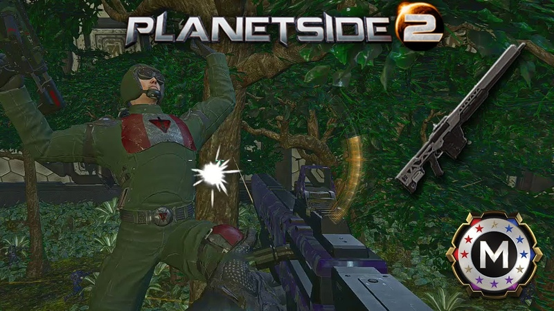 Planetside 2 Entre dos aguas NS AM8 Shortbow montage
