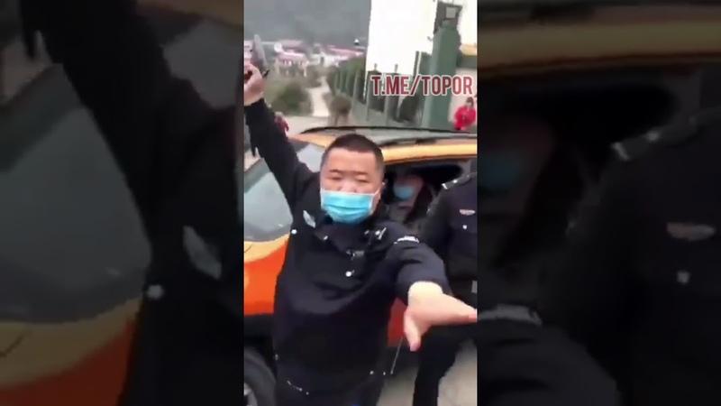 В Китае бунт из-за карантина коронавируса