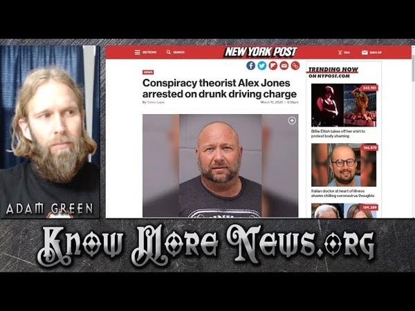 Alex Jones Arrested, Debates, News | KMN LIVE