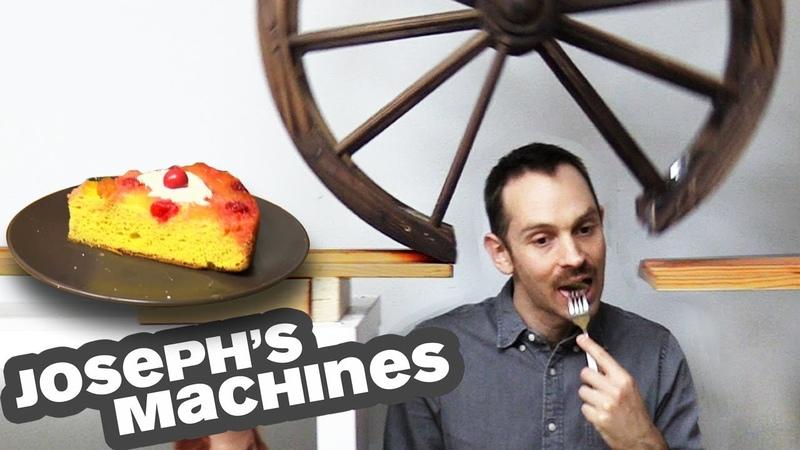 The Cake Server Joseph's Most Complex Machine Ever