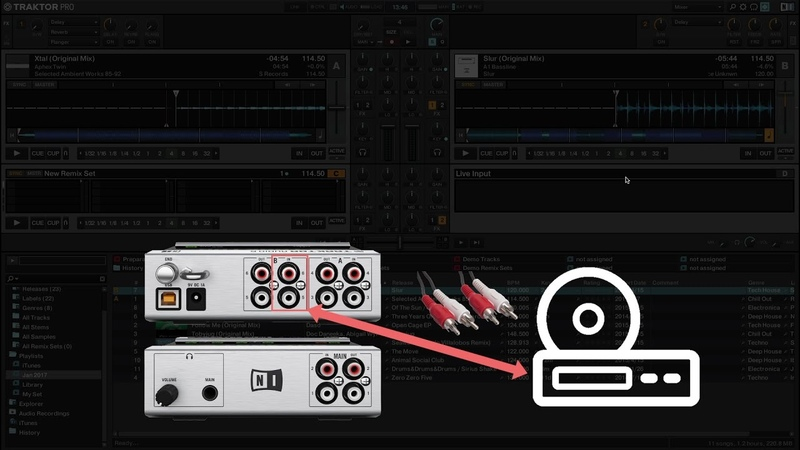 How to use External Audio as Live Input in TRAKTOR