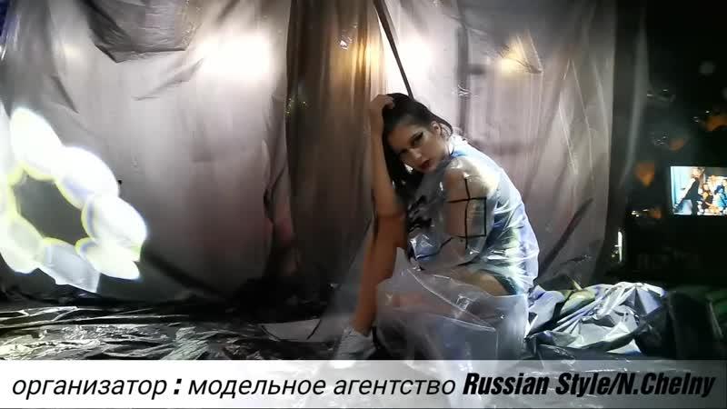 модель агентства Russian Style ЛЕЙЛА Ш restoclub IKRA