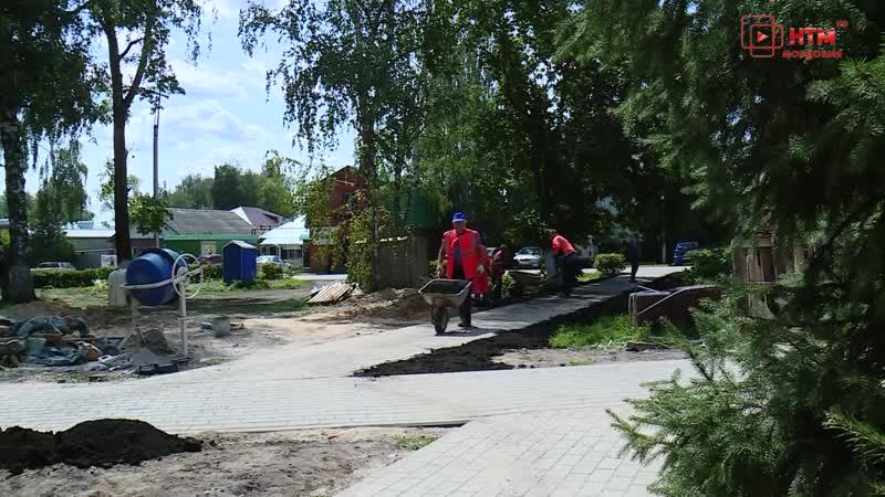 Реконструкция Парк Сквера в Ичалковском районе