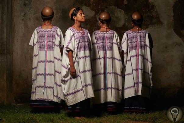 Коренные народы Мексики в ослепительных костюмах. Фотограф Диего Уэрта.