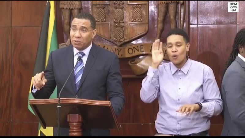 Andrew Holness schools will officially be closed for 14 days