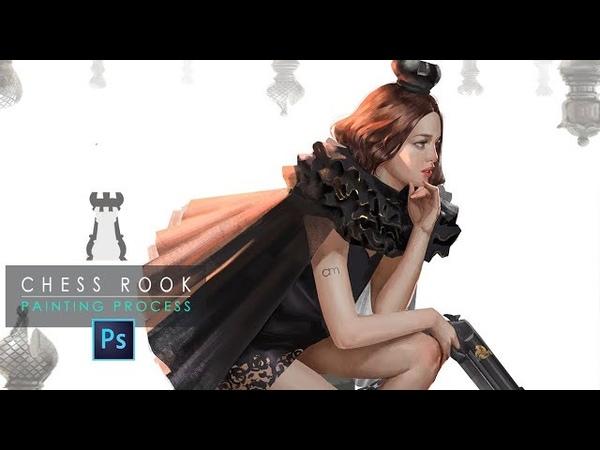 ChessRook_Digital Painting