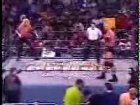 DDP vs Goldberg from 1998 WCW Halloween Havoc Part 1