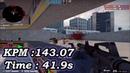 CS:GO. Aim botz - training. 143.07 KPM. Time 41.9 sec