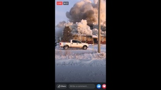 CANADA CPS OFFICE BURNS TO GROUND MANITOBA CHILD TRAFFICKING HEADQUARTERS DESTROYED