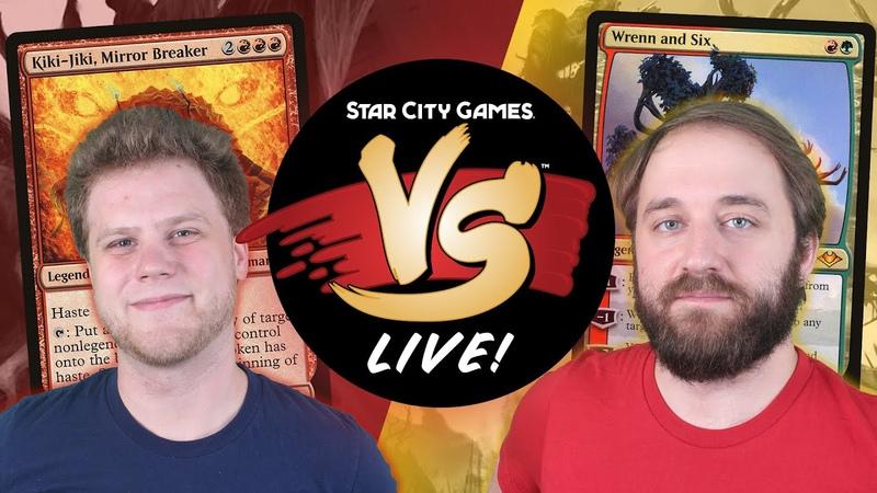 VS Live Rakdos Goblins VS Jund Midrange Modern Match 1