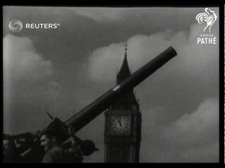 British public service announcement for Air Raid Precautions and Territorial Services (1938)