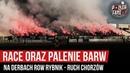 Race oraz palenie barw na derbach ROW Rybnik - Ruch Chorzów (19.10.2019 r.)