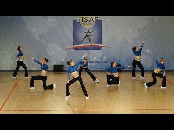 FISAF European Championships 2019 - Coming Home - junior Aerobic Grande - Belgium RheAxion