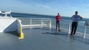 A Voyage on the Lake Express car ferry