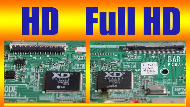 HD to Full HD (LED TV modify)