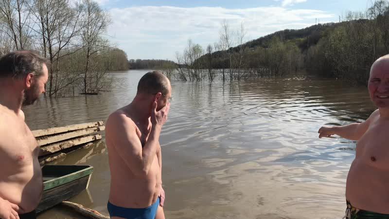 2020 год 1 мая праздничное купание в Уфимке