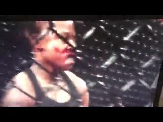 Black girl beaten bloody by white girl in bare-knuckle cage fight