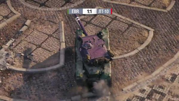 World of Tanks: Panhard EBR 105 vs. ЛТ-10 - Танкомахач 102
