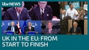 Brexit Britain s 47 year relationship with the EU in three minutes ITV News