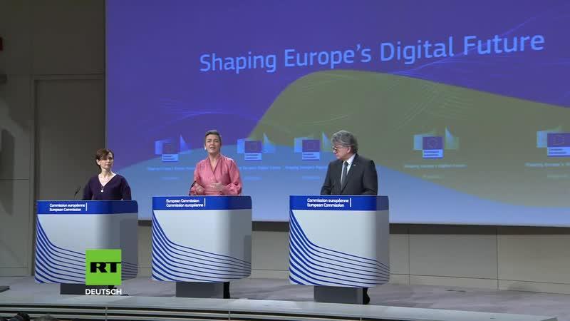 EU legt ersten Entwurf des vorgeschlagenen digitalen Strategieplans vor