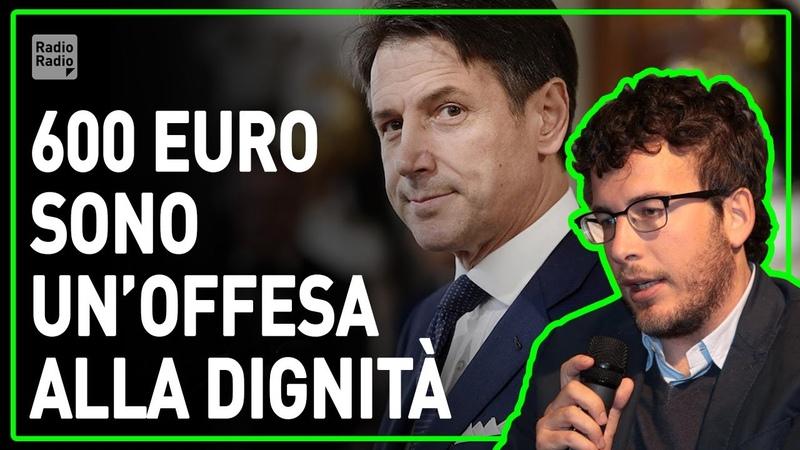 MENTRE CANTIAMO AI BALCONI IL GOVERNO STERMINA I LAVORATORI E IL MES DISTRUGGE L'ITALIA Fusaro