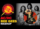 The Bee Gees AC_DC (Mashup by Wax Audio) - Stayin in black