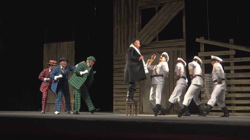 Но где же начинается полиция Фрагмент мюзикла Биндюжник и Король