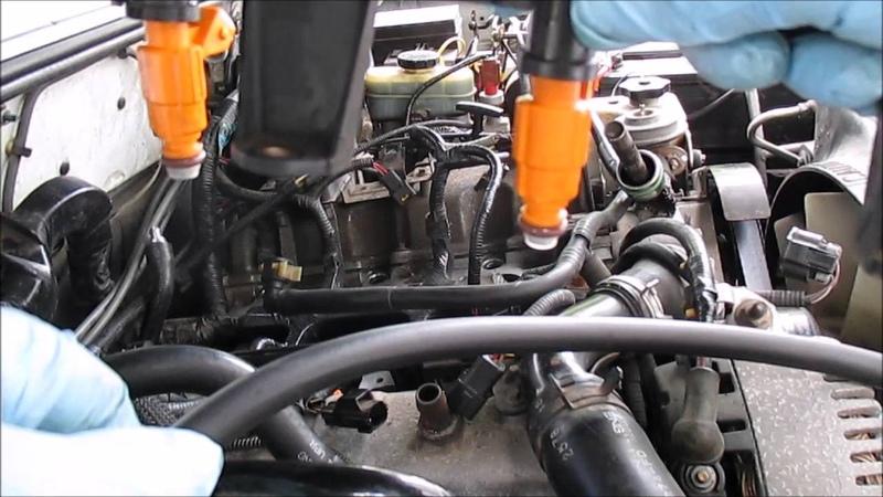 Fuel Injector Install Ford Explorer 4 0L SOHC Part 1