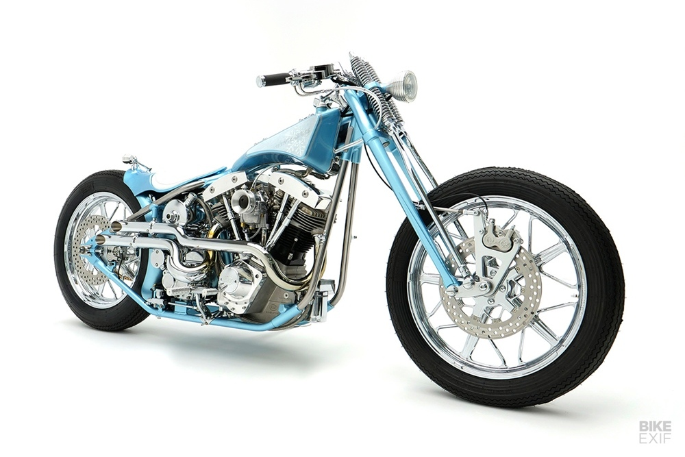 Winterless Craft: боббер S&S Shovelhead