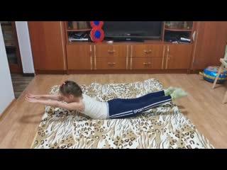 #спортдома ученица 1а класса Алиса Абрамова