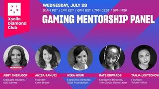 Xsolla Diamond Club Presents: Gaming Mentorship