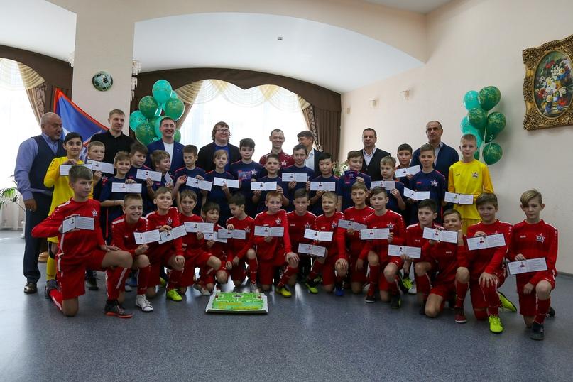 Сергей Ленивкин: «Наш центр подготовки юных футболистов сделал большой шаг вперёд», изображение №2