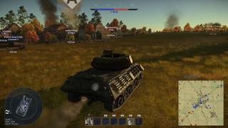 WarThunder PS4Pro - ТОП 1 ( Арденны АБ 3.7 )