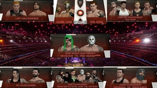 WWE 2K16 ★ WRESTLEMANIA ★ PPV by OWE ★ Universe Mode ★ PS4