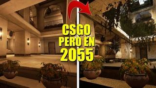 ¡ASÍ SERÍA CSGO EN 2055!   MAPAS EN EL FUTURO