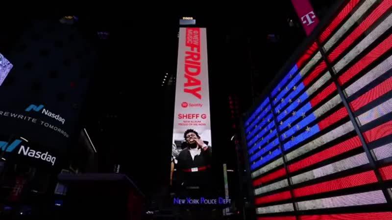 Рекламный билборд с Sheff G