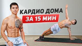 ДОМАШНЯЯ КАРДИО ТРЕНИРОВКА! Комплекс упражнений для начинающих!