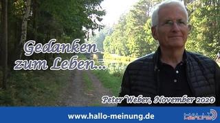 """""""Gedanken zum Leben..."""" von Peter Weber"""