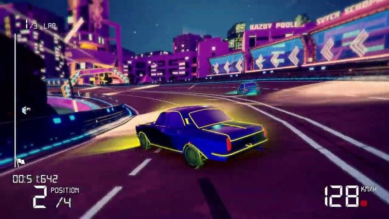 Игра Electro Ride The Neon Racing