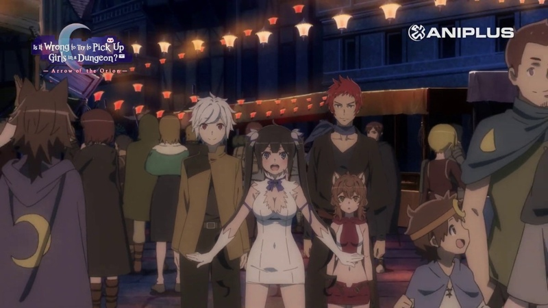 Is It Wrong to Try to Pick Up Girls in a Dungeon Arrow of Orion Teaser.